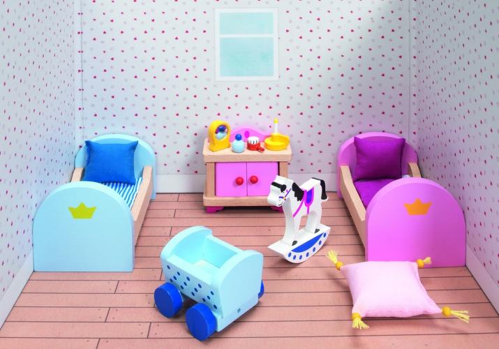 Houten Slaapkamer Meubels : Poppenhuis slaapkamer meubels kasteel voor maar u ac bij
